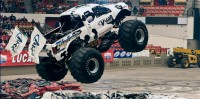 A Monster Truck show was held at the Dane County Coliseum at the Alliant Energy Center.