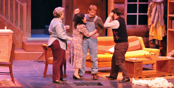"Madison Area Technical College Performing Arts puts on ""The Foreigner"" at the Mitby Theater on March 4."