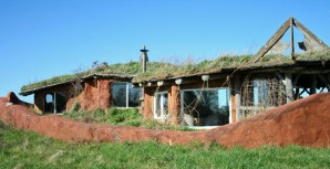 Sod house