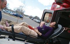 Mock disaster helps prepare students for real danger