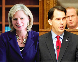 Where they stand: governor's race