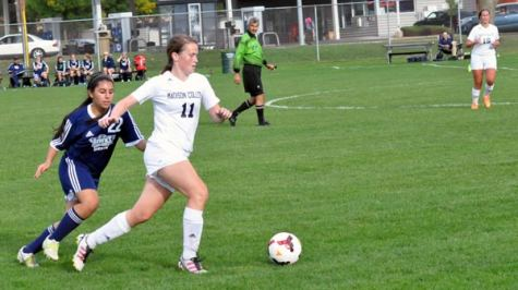 WolfPack women's soccer team scores the program's first victory