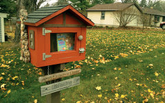Robotics team joins forces with little free libraries