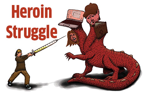 Heroin use grows in Dane County