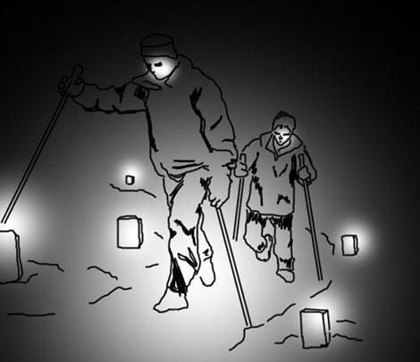Take a night hike
