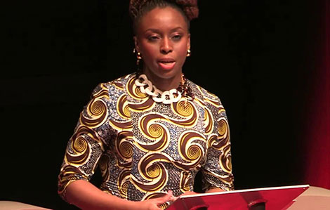 Adichie argues 'We Should All Be Feminists'