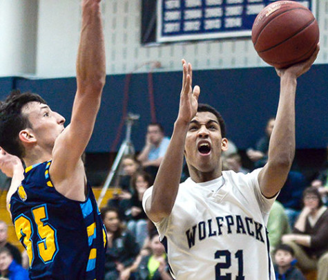 Rock Valley holds off WolfPack in men's basketball
