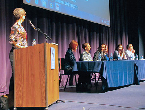 Panel discusses rape,  'The Hunting Ground'