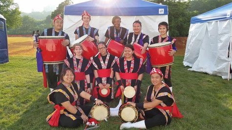 Taiko drumming group open to students, local community