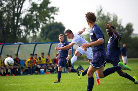 Paraguayan-born player Ramirez-Pinho helps lead the WolfPack men's soccer team