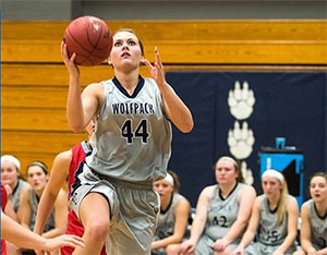 WolfPack women's basketball players earn honors