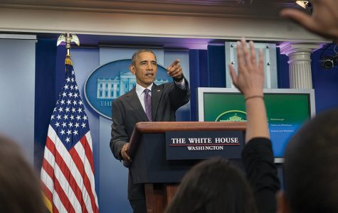Power of the press highlighted at White House