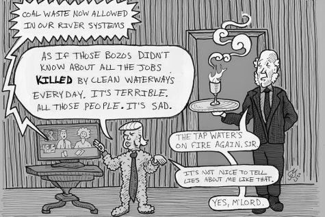 New Micheal Edwards Political Cartoon