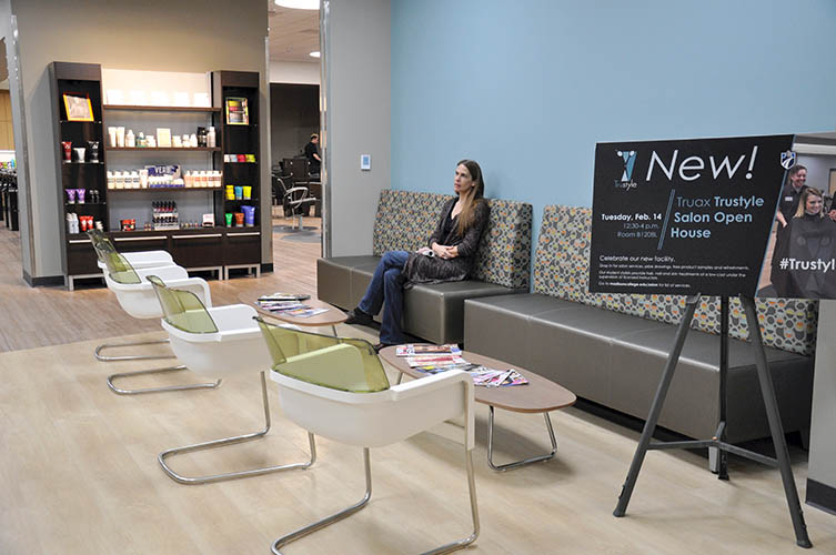 Superb The Clarion New Trustyle Salon Opens At Truax Campus Short Links Chair Design For Home Short Linksinfo