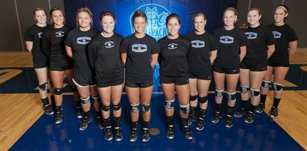 WolfPack Women's Volleyball Team 2011