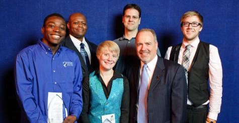 Karen Roberts Student Life Leadership Award Winners.