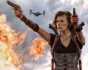 Movie Review Resident Evil Retribution The Clarion