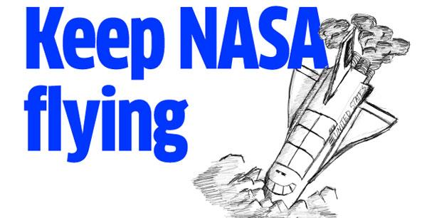 Space shuttle program.