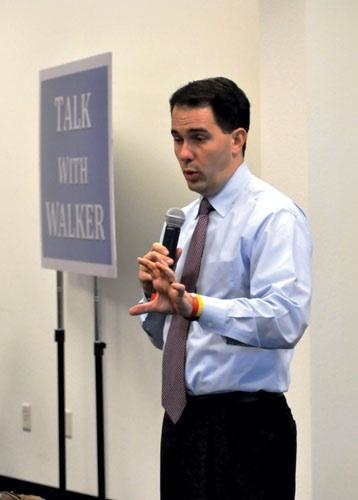 Gov. Walker discusses budget plans on Dec. 12, 2012