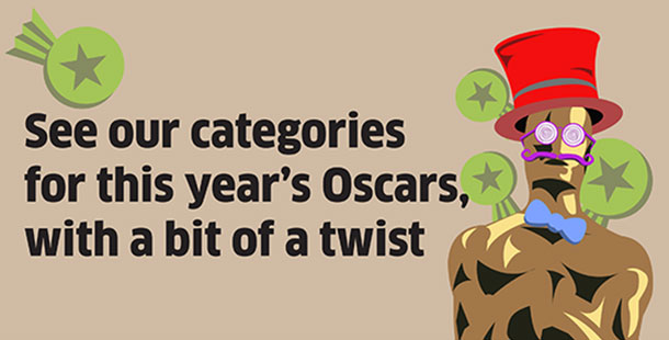 You won't find these categories among the Oscars Awards.