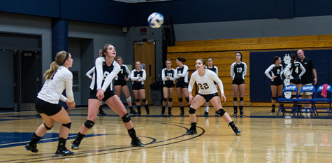 Volleyball team prepared to storm its opposition