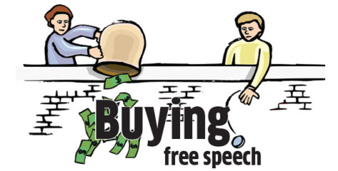 Unlimited political contributions put price on free speech