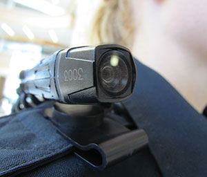 New portable patrol cameras are now being tested by Madison College Public Safety officers. The cameras can be worn on sun glasses, hats or shoulders.