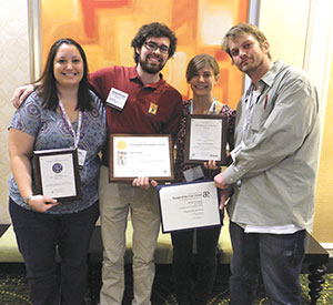 The Clarion wins award at national college media convention