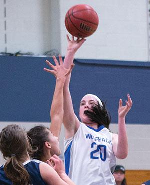 Ellen Hayden is the top returning scorer for the WolfPack women's basketball team.