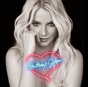 The cover of Britney Jean, the new album by Britney Spears.