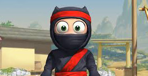 Clumsy Ninja is a fun way to pass time.