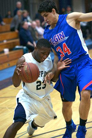 Men's basketball team earns hard-fought win over Elgin