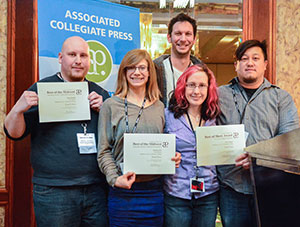The Clarion wins 5 awards at media convention