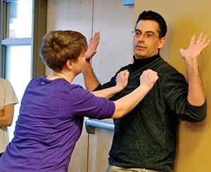 Self-defense class promotes greater awareness of safety