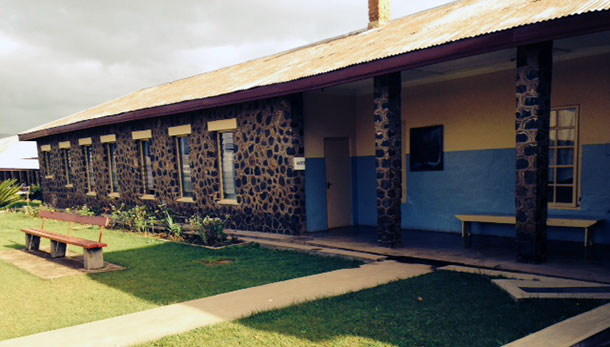 Madison College Dean Antonio Re spent three weeks volunteering at St. Elizabeth Hospital in Cameroon during the summer.