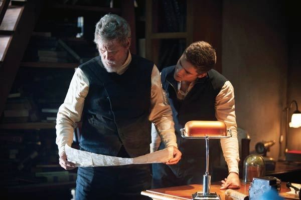 scene from The Giver
