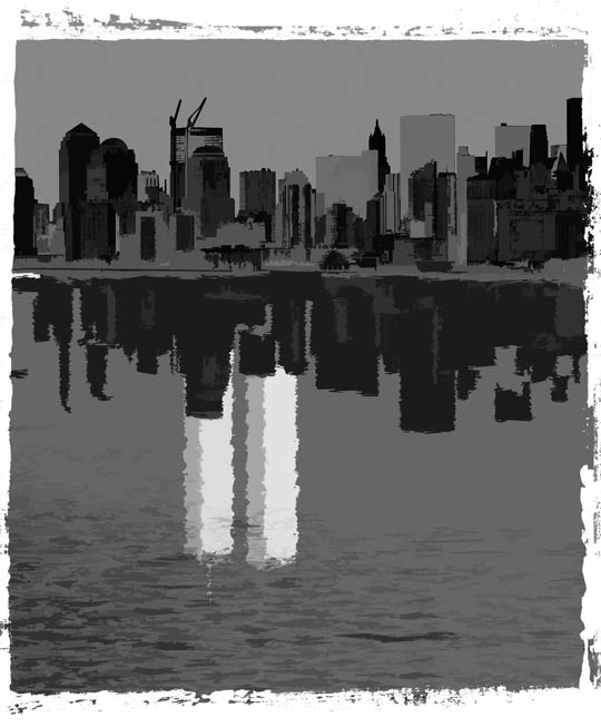 Illustration of Twin Towers