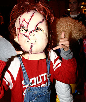 "You never know who you'll meet on State Street as part of the annual Freakfest celebration in downtown Madison. In 2008, it was ""Chucky."