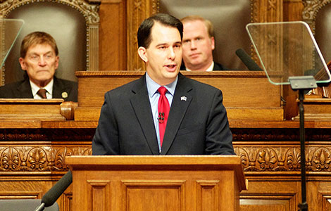 Walker wins re-election