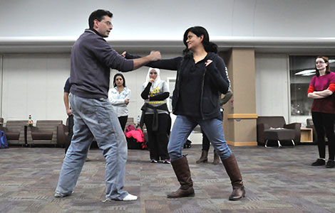 Learn practical self-defense skills