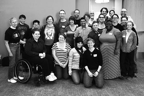Group gathers at Wisconsin Transgender Health Summit.