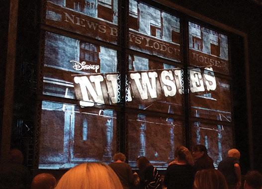 Newsies Musical Logo