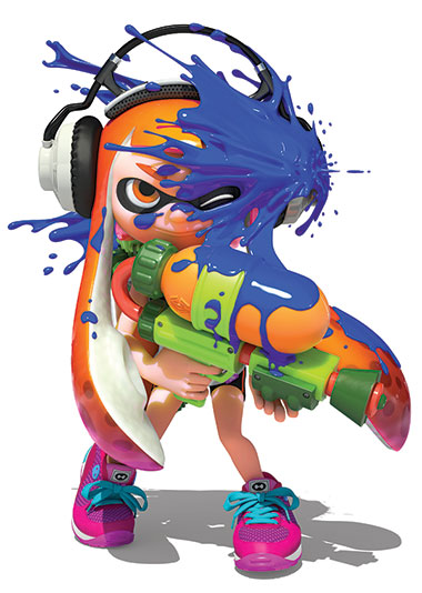 Splatoon character graphic