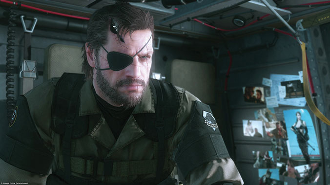 Graphic from Metal Gear Solid V: The Phantom Pain