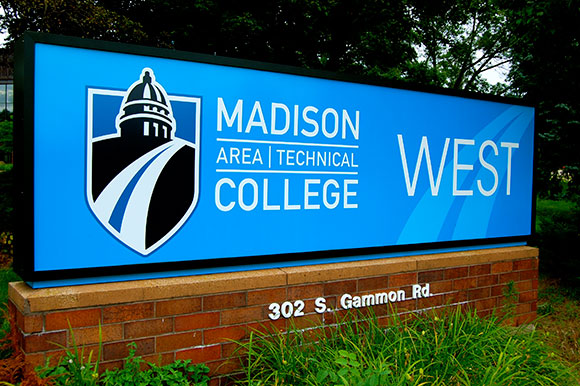 Madison College West Campus Sign