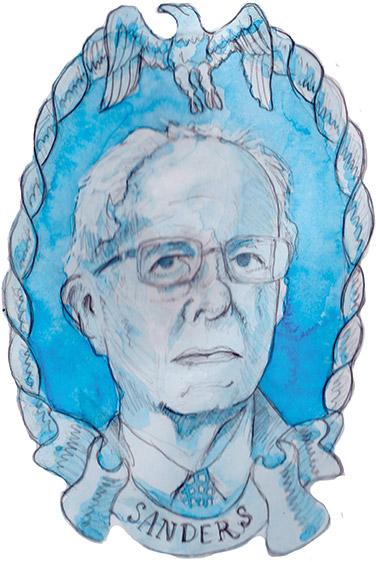 Bernie Sanders Illustration