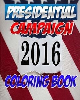 """The """"2016 Presidential Campaign Coloring Book"""" looked like a fun purchase on Amazon, but it didn't have much to offer. The inside pages were little more than photoshopped images of the candidates."""