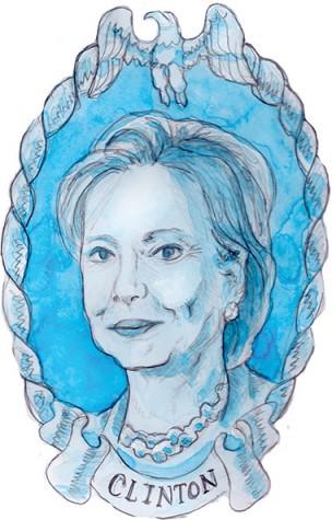 Hillary Clinton Illustration