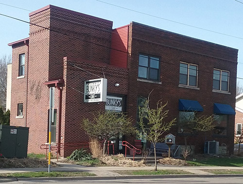Bunky's Cafe located on the East Side of Madison, now to be a rent location for parties and events