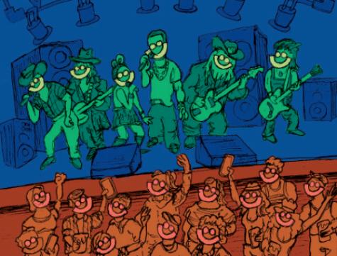 Summerfest illustration